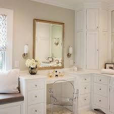 corner bathroom vanity table corner bathroom vanity design ideas