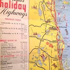 Cocoa Florida Map by Flashback Friday Tourist Map Of Florida From 1950 The Florida