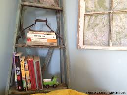 corner ladder shelf diy upcycle u2013 endless acres farmtiques
