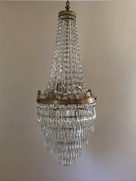 beaded crystal chandelier antique french empire basket wedding cake crystal chandelier