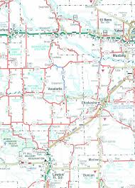 Map Of Oklahoma State by Caddo County Oklahoma Genweb