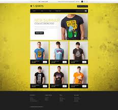 template opencart para sites de lojas de camisetas