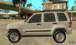 liberty jeep 2007 jeep liberty 2007 final for gta san andreas
