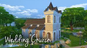the sims 4 house building wedding church youtube