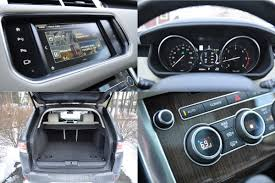 range rover diesel 2016 land rover range rover td6 diesel interior details hooniverse