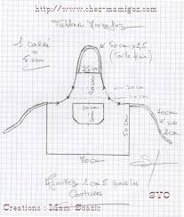 tuto couture tablier cuisine adulte idée de modèle de cuisine