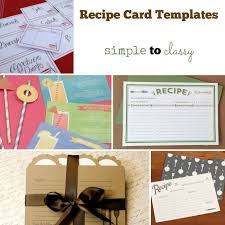 10 best recipe card templates images on pinterest recipe card