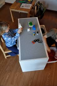 Lego Table With Storage For Older Kids That Crafty Juls Our New Lego Table