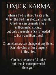 quotes about time and karma http todays quotes p 15192