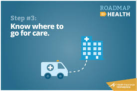 knowing where to go for care healthcare gov
