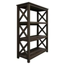 Small Two Shelf Bookcase Open Format 3 Shelf Bookcase Threshold Target