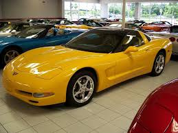 yellow corvette c5 corvette spotlight of the month roger s corvette center
