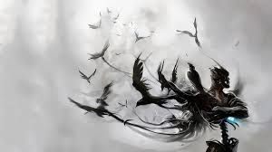 halloween raven background raven wallpapers wallpaperup