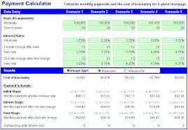mortgage calculator excel spreadsheet template kctati info