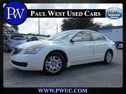 nissan altima coupe gas mileage 2009 2009 nissan altima 2 5s gainesville fl paul west used cars