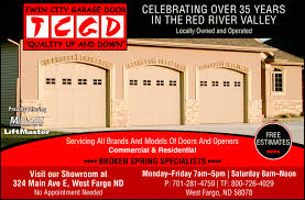 Overhead Door Fargo City Garage Door Co West Fargo Nd 58078 1216 Yellowbook