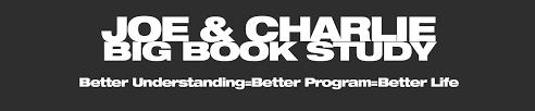 joe u0026 charlie big book study
