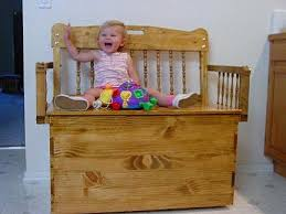 Wood Toy Chest Plans by Woodware Child U0027s Bench Toy Box
