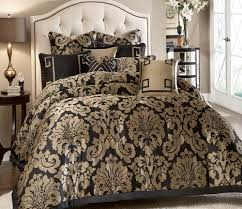 White And Gold Bedding Sets Black White And Gold Comforter Home Design Ideas