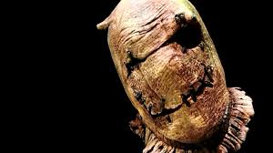 scarecrow halloween mask burlap scarecrow tom devlin halloween latex mask 2014 youtube