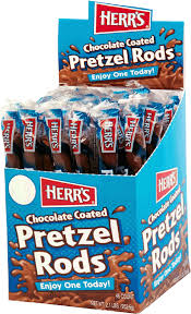 where to buy pretzel rods herr s products chocolate covered pretzel rods