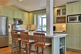 kitchen island columns country kitchen with l shaped columns