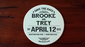 save the date coasters tag galveston wedding in galveston galveston