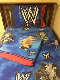 Wwe Bedding Wwe World Wrestling Twin Sheet Bedding Set The Rock Pillowcase