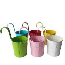 popular hanging bucket planters buy cheap hanging bucket planters