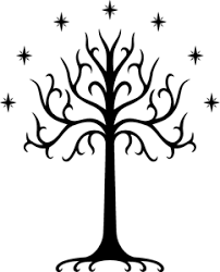 tree of gondor logo vector eps free