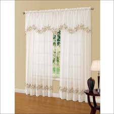 Cheap Black Curtain Rods Living Room Magnificent Red Sheer Curtains Walmart Small Curtain