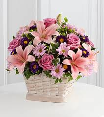 sympathy basket the ftd loving sympathy basket