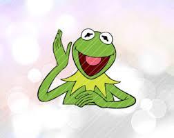 kermit the frog etsy