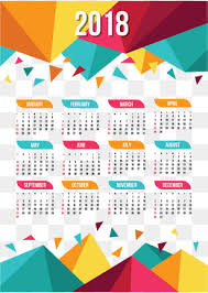 2018 calendar template png images vectors and psd files free