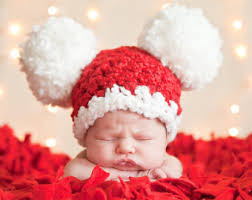 baby christmas christmas baby santa hat baby hat 9 to 12 month baby girl hat