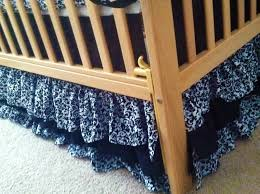 Mini Crib Bumper Pattern by Crib Skirt Pattern Creative Ideas Of Baby Cribs