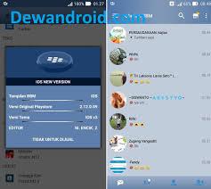 membuat id card bbm bbm mod iphone new style for android v3 3 7 97 ibbm terbaru 2017