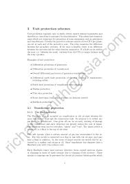 power station electrical protection