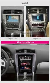 lexus is dvd player 10 4 inch hd 1024 768 touch screen android 4 4 2 radio for 2008