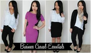casual for how to build a work wardrobe business casual essentials