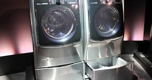 Pedestal Washing Machine Lg Twin Wash System Adds Mini Washer Pedestal Digital Trends
