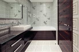 bathroom with wallpaper ideas wallpaper in bathroom u2013 hondaherreros com
