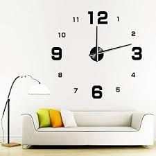 Modern Wall Clock Large Modern Wall Clocks Amazon Com