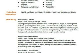 Coaching Resume Sample by Soccer Coach Resume Examples Soccer Coach Resume Sample Soccer