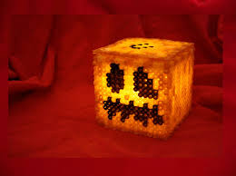 halloween diy 3d hamabeads minecraft pumpkins jack o lantern youtube