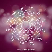zodiac signs symbols drawing vector download