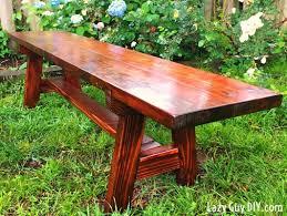 6 foot farmhouse bench buildsomething com