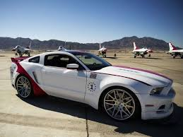 86 mustang cobra ford builds a one of a mustang for the air thunderbirds