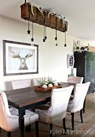 decor for a hunting home with farmhouse country style rustic