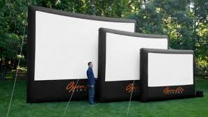 Backyard Outdoor Theater by Backyard Inflatable Movie Screens Outdoor Furniture Design And Ideas